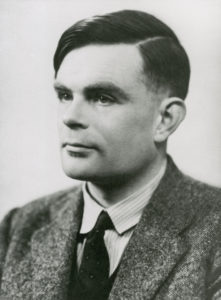 Portrait of Alan Turing from archive of papers relating to the development of computing at the National Physical Laboratory between the late 1940s and the early 1970s. Includes material on Pilot ACE, ALGOL, Alan Turing etc. 74 boxes + 1 envelope.