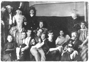 Magnus Hirschfeld at a costume party at the Institute of Sexology. Photo courtesy of Magnus-Hirschfeld-Gesellschaft e.V., Berlin